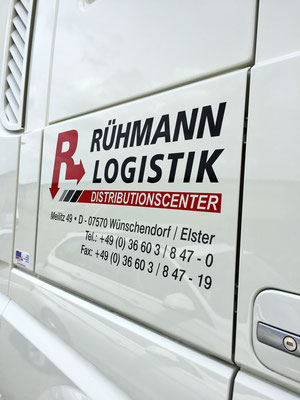 folien-fabrik / Rühmann Logistik Distributioncenter / Corporate Identity