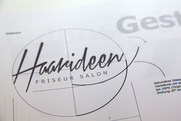 folien-fabrik / Salon Haarideen  / Interior Design