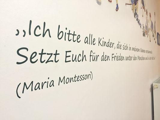 folien-fabrik / Montessori Kinderhaus ,,Frohes Leben,, / Wandgestaltung