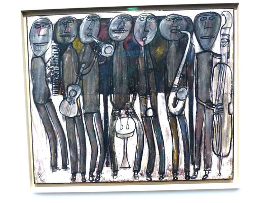 Jean Dubuffet Jazz Band Chicago