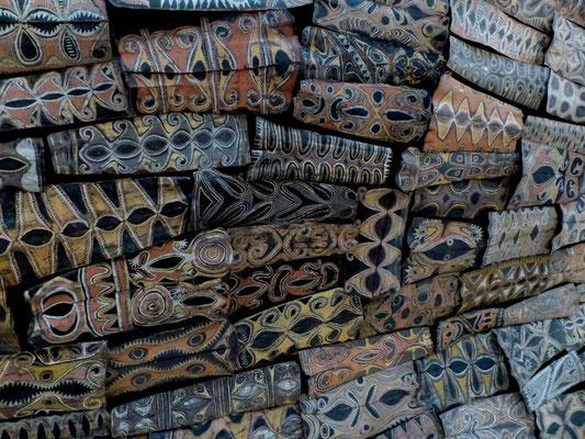 Schilder Neu Guinea