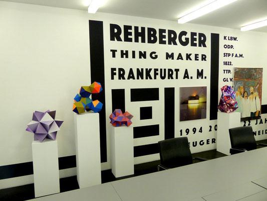 Tobias Rehberger, presently, Galerie Neugerriemschneider