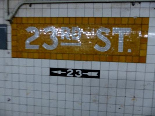 U-Bahn Ausstieg nach Chelsea