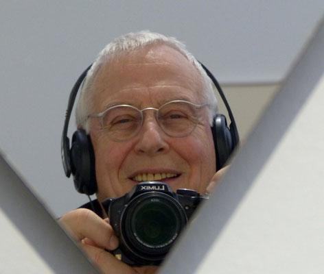 Der begeisterte Autor und Fotograf