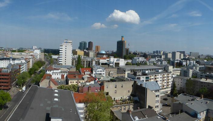 Blick auf Schöneberg