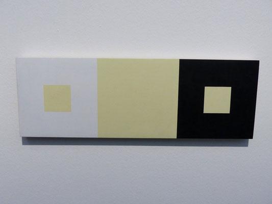 Francois Morellet, Reaktion einer zufällig gezogenen Farbe