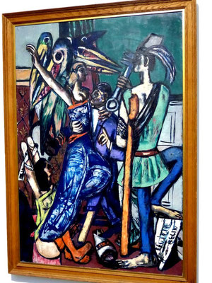 Max Beckmann Begin of Beguine