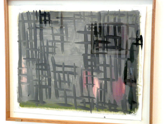 Günther Förg, Galerie Hetzler