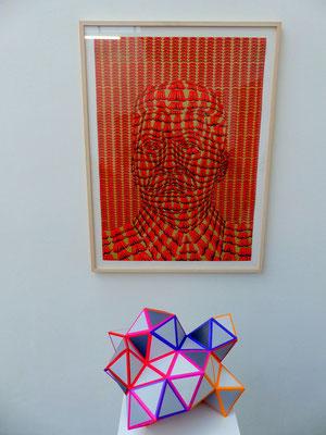Rehberger mit Thomas Bayrle, presently, Galerie Neugerriemschneider