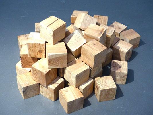 hermann de vries, Holz vorm Haus