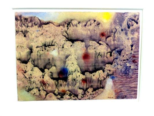 Max Ernst, Frottage