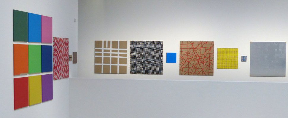 Stefan Schlichter, Berliner Block aus farbigem Klebeband