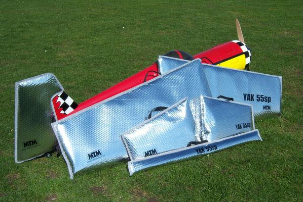 Flächentaschen für Yak 55sp von Andreas Kastaun