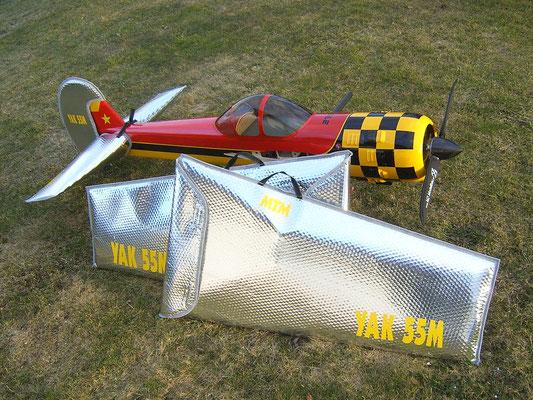 Flächentaschen für  Yak 55M von Christoph Spagert