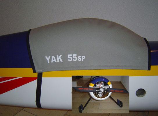 Haubenabdeckung und Propsaver für YAK 55SP von Matthias Wolf