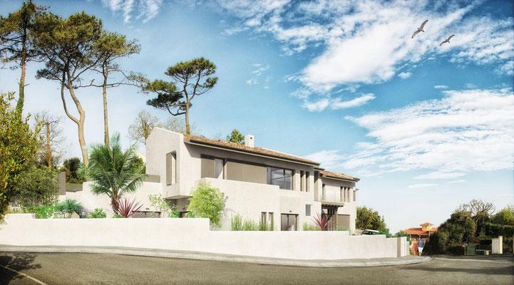 Maison Motte | Biarritz | architecte Romain Thévenot |