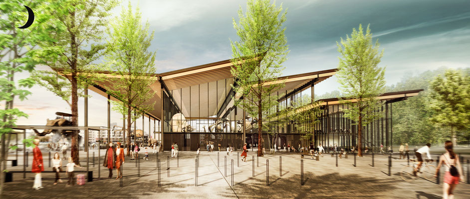 La machine, halle du conservatoire des mécaniques | Toulouse  |  Architecte: Agence Arotcharen |