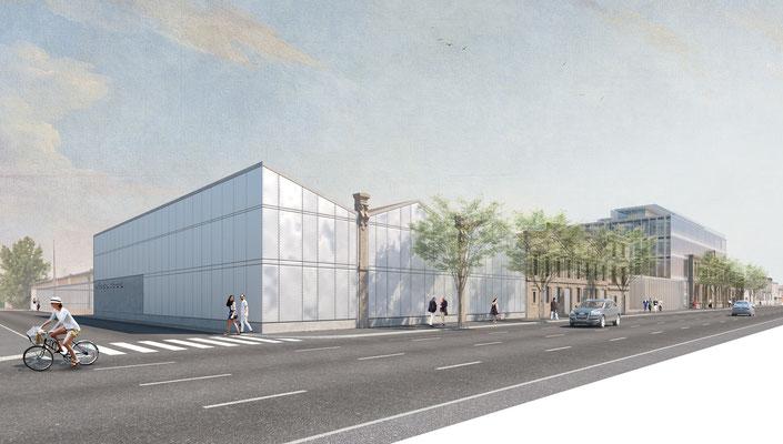 | Requalification du Site Paludate - Financière Bernard  | Bordeaux | Agence Arotcharen |