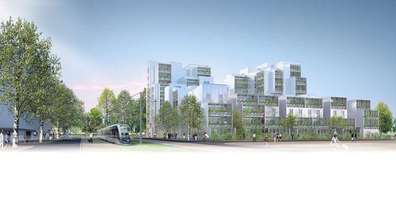 | Logements ginko îlot b1.1 | Bordeaux | Agence Arotcharen |