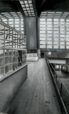 2009, Großmarkthalle I, Acryl auf Leinwand, 150 x 95 cm