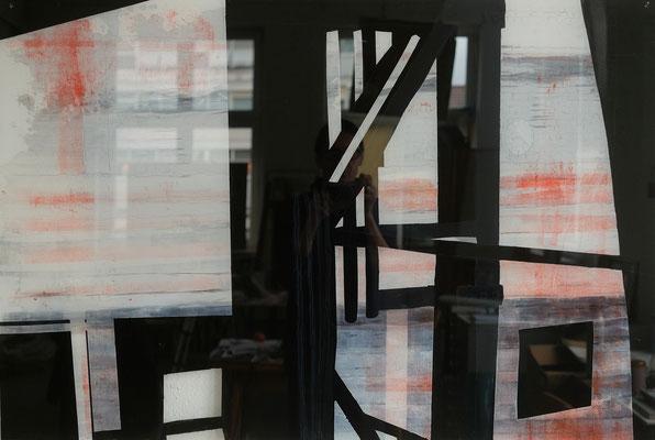 2018, Fredenhagen III, Multimedia hinter Plexiglas, 80 x 120 cm