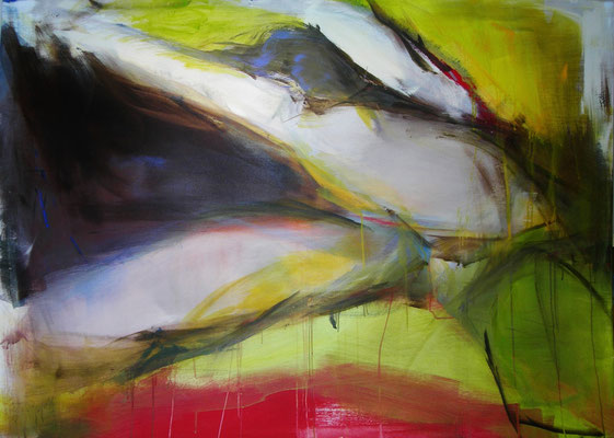 Aufschwung  |  110 x150  |  Acryl auf Leinwand  |  2012