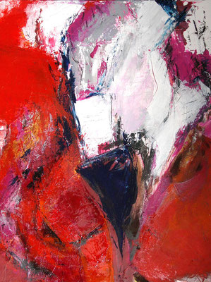 Hitze  |  70 x 90  |  Acryl auf Leinwand  |  2006