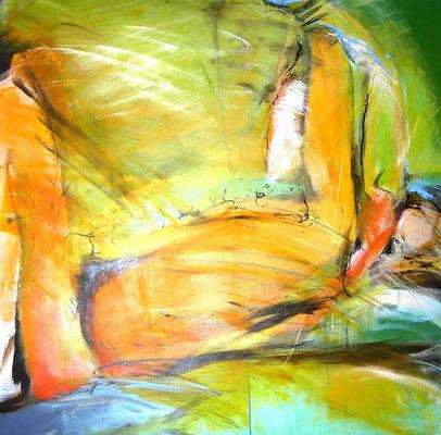 Balance  |  100 x 100  |  Acryl auf Leinwand  |  2010