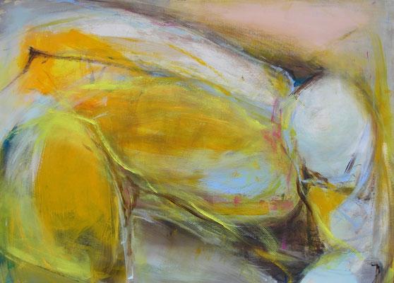 Vorbeugung  |  110 x150  |  Acryl auf Leinwand  |  2013