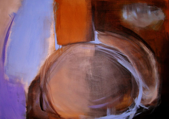 Rundungen  |  100 x 150  |  Acryl auf Leinwand  |  2012