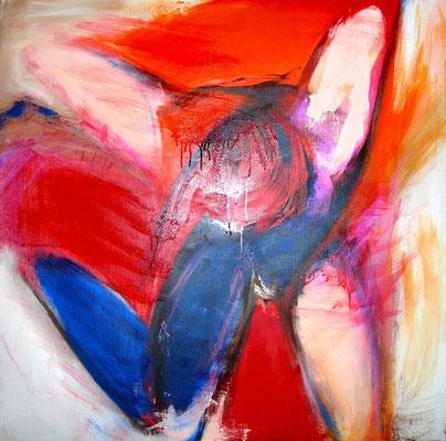 Im Fall  |  100 x 100  |  Acryl auf Leinwand  |  2010