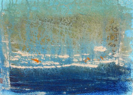 Bretagne  |  Acryl, Pigmente auf Bütten  |  30 x 40  |  2014