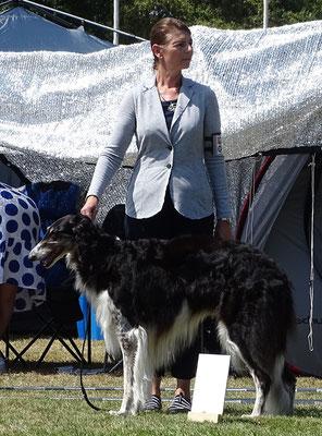 Die Prinzessin Resch Wind Agapi Mou und ihre liebe Besitzerin