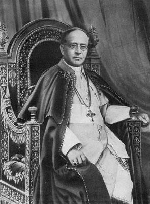 Pie XI, Pape de 1922 à 1939