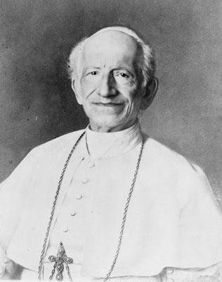 Léon XIII, Pape de 1878 à 1903
