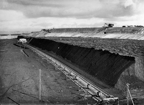 Blick in Tagebau
