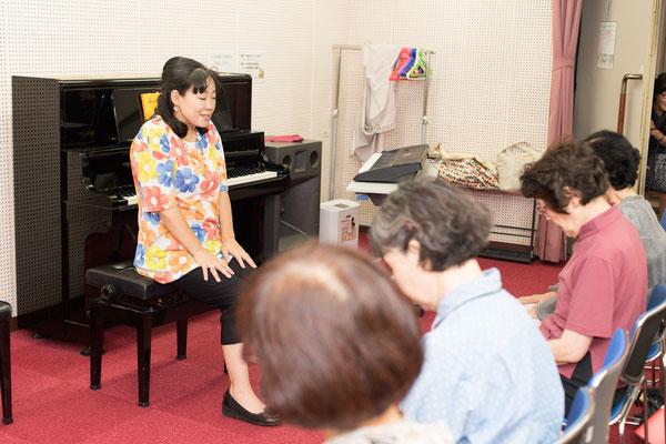 歌声健康唱歌のサークル 脳活性