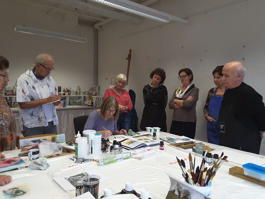 Workshop im Atelier