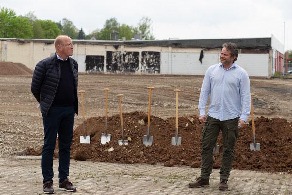 Ingo Möwes und Eike Hillebrecht - auf gute Zusammenarbeit!