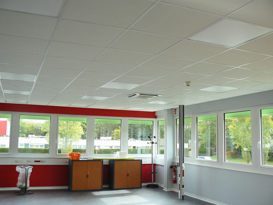 Isolation et faux plafond