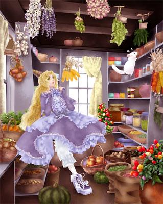 「どっ、泥棒なのー!?」オデット姫を見てキュッリッキさんビックリです。