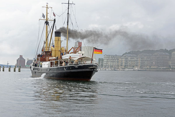 Dampfrundum - Hafen Flensburg