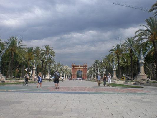 Triumpfbogen Barcelona