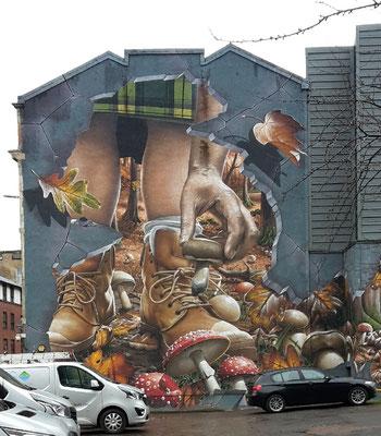 Glasgow Sehenswürdigkeiten Top 10 - Street Art Trail / Ingram Street