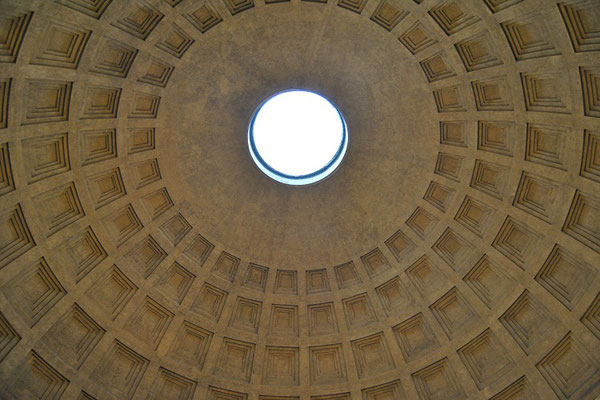 Dome of the Pantheon in Rome