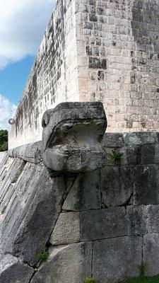 Juego de Pelota / Ball Court / Mayan Ruins of Chichen Itza / Mexico Yucatan