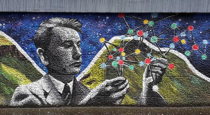 Glasgow Sehenswürdigkeiten Top 10 - Street Art Trail / Univercity of Strathclyde