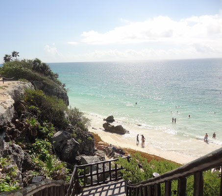 Cuba Mexico itinerary 2 weeks - Mayan ruins of Tulum