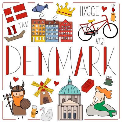 Mein Sketchnotes Reise ABC - N wie Dänemark