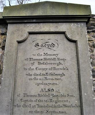 Greyfriars Kirkyard / Tom Riddle Grave / Harry Potter in Edinburgh